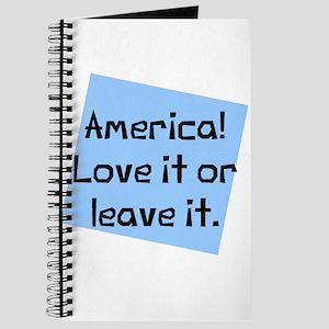 America Love Leave Journal