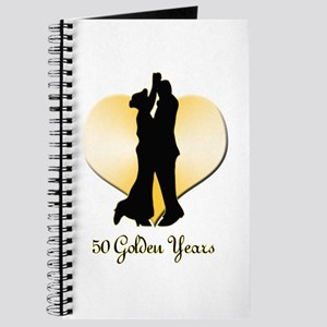 50th Wedding Anniversary Journal