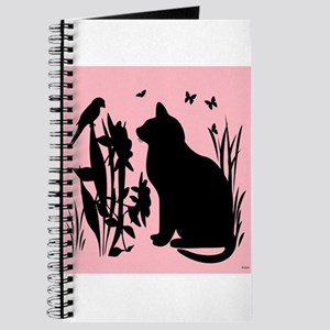 SPRING KITTY SILHOUETTE Journal