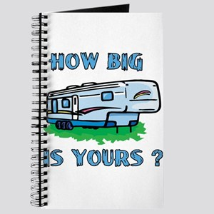How big is yours? Journal