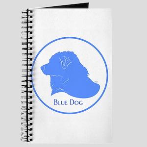 Blue Dog Logo Journal