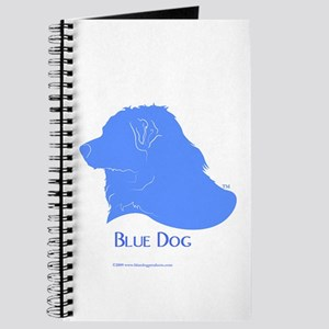 Classic Blue Dog Journal