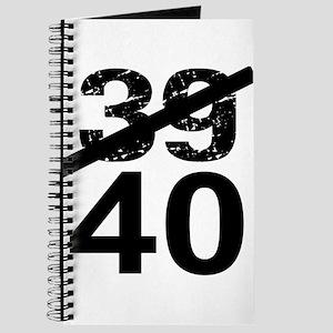 40th Birthday Journal
