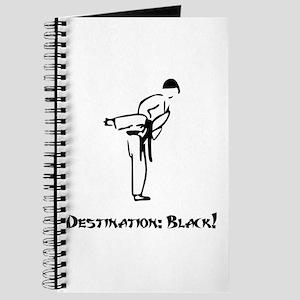 Destination Black Belt Journal
