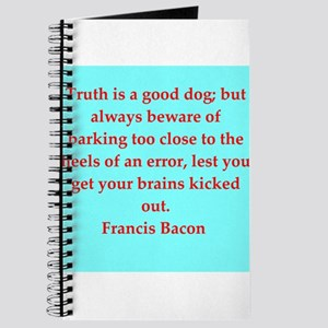 Francis Bacon quotes Journal
