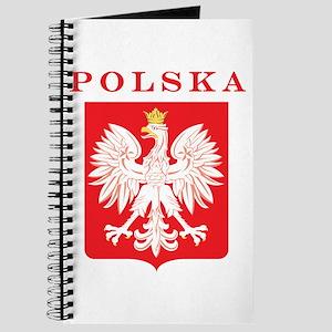 Polska Eagle Red Shield Journal