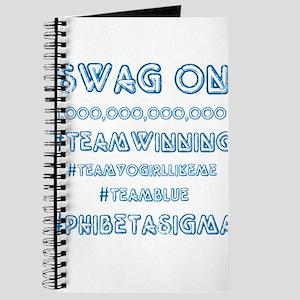 Phi Beta Sigma Swag Journal