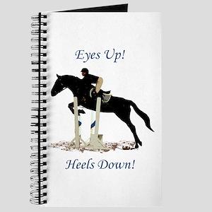 Eyes Up! Heels Down! Horse Journal