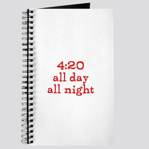 4:20 all day all night Journal