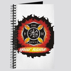 Personalized Fire and Rescue Journal