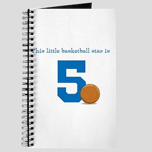 Basketball Star Custom Age Journal