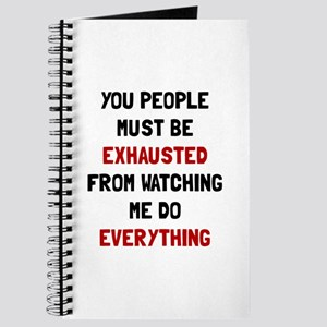 Exhausted Journal
