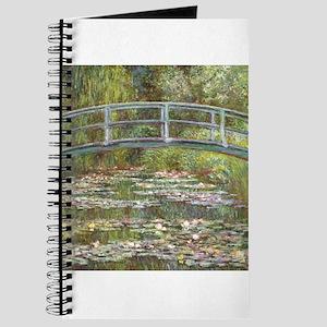 Monet Bridge over Water Lilies Journal