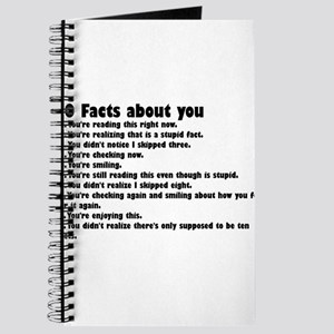 10 Facts about you Journal