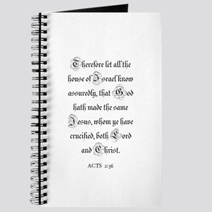ACTS 2:36 Journal