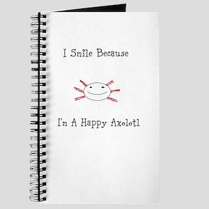 Happy Axolotl Journal