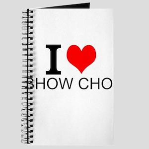 I Love Show Choir Journal