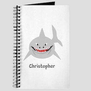 Personalized Shark Design Journal