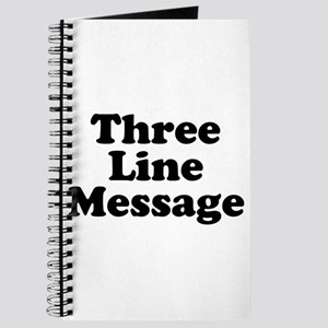 Big Three Line Message Journal