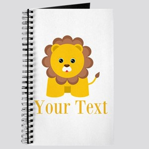 Personalizable Little Lion Journal