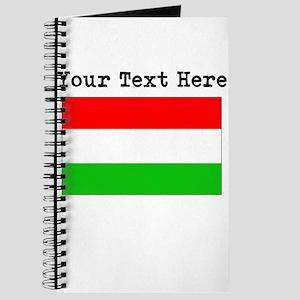 Custom Hungary Flag Journal