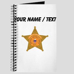 Deputy Sheriff Badge (Custom) Journal
