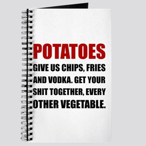 Potatoes Give Us Journal