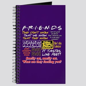 Friends Quotes Journal
