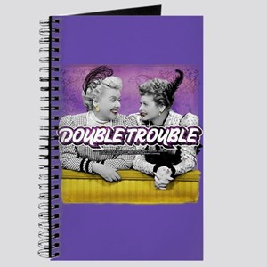 I Love Lucy: Double Trouble Journal