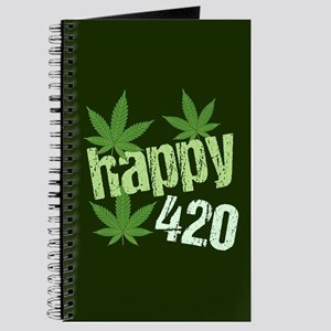 Happy 420 Marijuana Journal