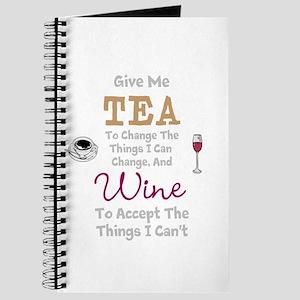 Tea and Wine Journal
