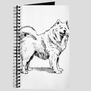 Samoyed dog Journal