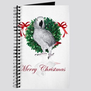 african grey christmas Journal