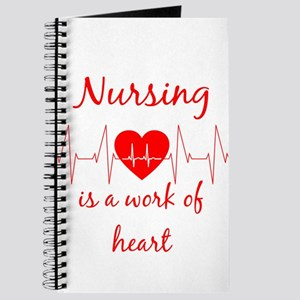 Nursing is a work of the Heart Inspiration Journal