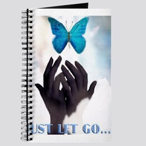 JUST LET GO BUTTERFLY Journal