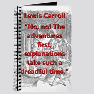 No No The Adventures First - L Carroll Journal
