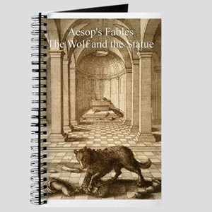 Wenceslas_Hollar_- Wolf and the Statue - Aesop - J