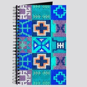 Blue Navajo Symbols Journal