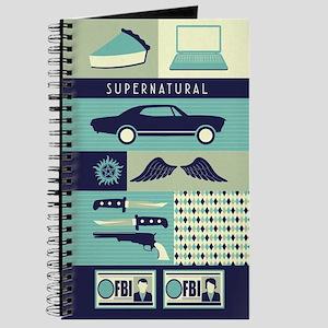 Supernatural Collage Journal