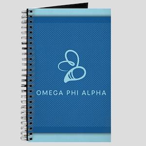 Omega Phi Alpha Logo Journal