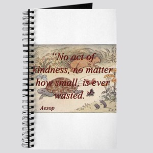 No Act Of Kindness - Aesop Journal