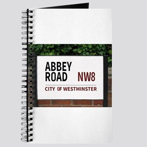 Abbey Road street sign Journal