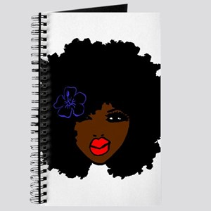 BrownSkin Curly Afro Natural Hair???? Pink Journal