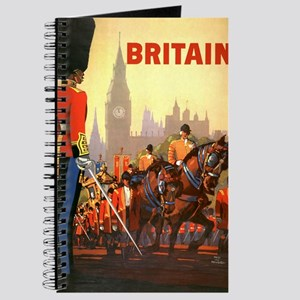 Vintage Travel Poster, Britain Journal