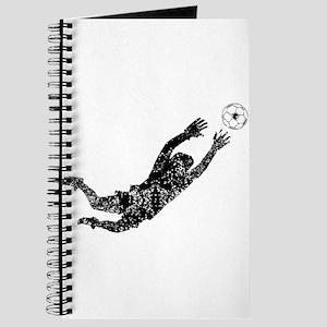 Vintage Soccer Goalie Journal