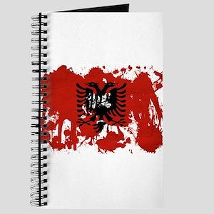 Albania Flag Journal