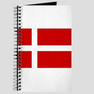 Denmark Flag Journal
