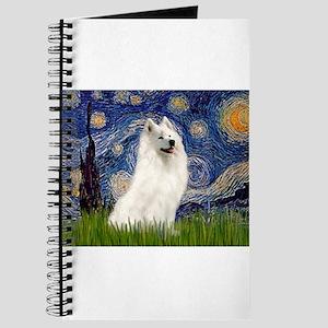 5.5x7.5-Starrynight-Samoyed1 Journal