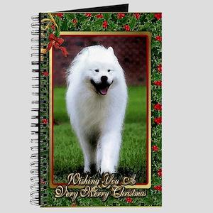 Samoyed Dog Christmas Journal