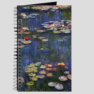 Claude Monet Water Lilies Journal